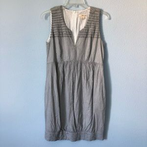 DKNY Jeans gray sleeveless dress